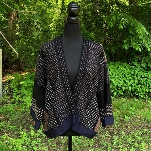 Anthropologie Moth open front cardigan